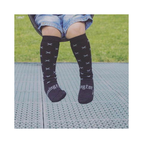Loot Merino Knee High Toddler Socks