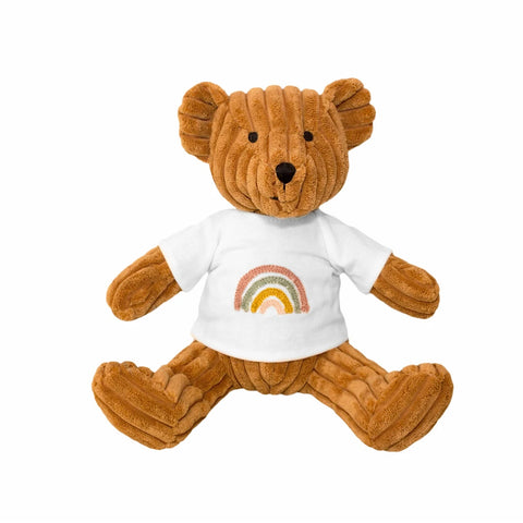 Rainbow Bear - Nutmeg