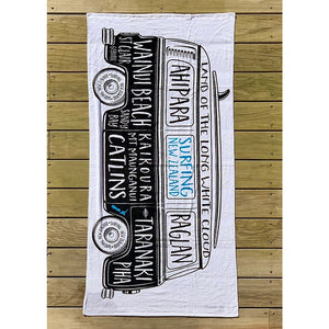NZ Surf Combi Beach Towel