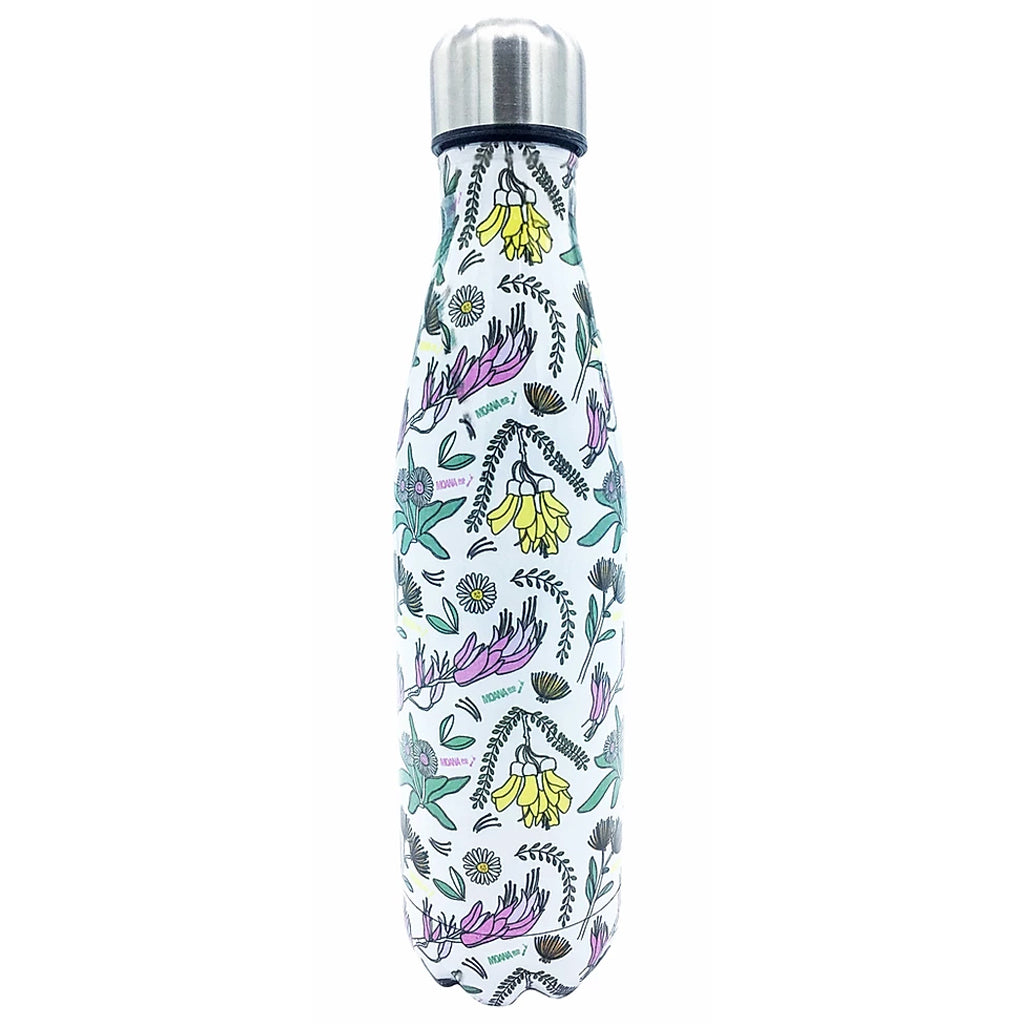 NZ Flowers Drink Bottle 500ml
