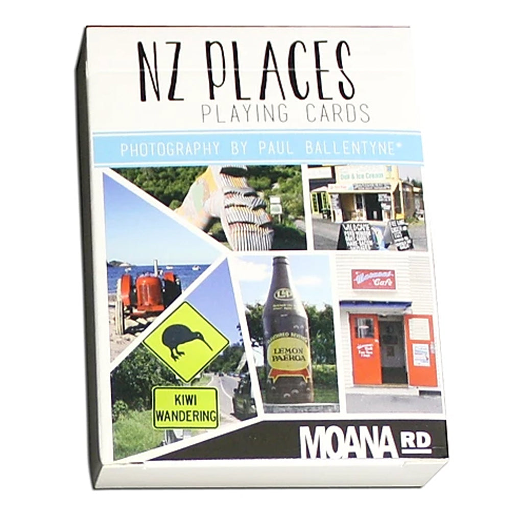 NZ Places Playing Cards