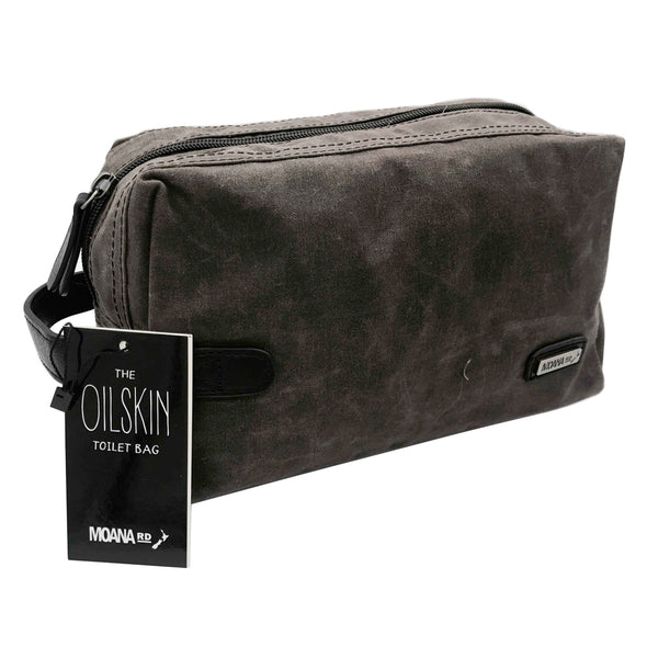 Oilskin Toilet Bag