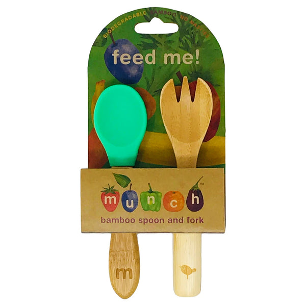 Bamboo Baby Spoon and Fork