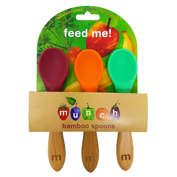Bamboo Baby Spoons Set