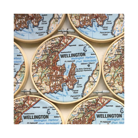Wellington Map Hoop