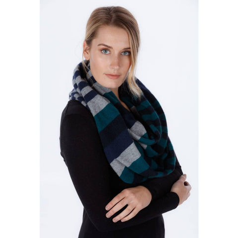 Block Colour Loop Scarf