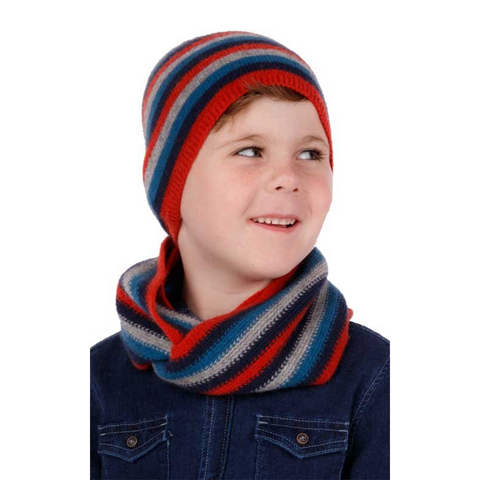 Kid's Striped Beanie