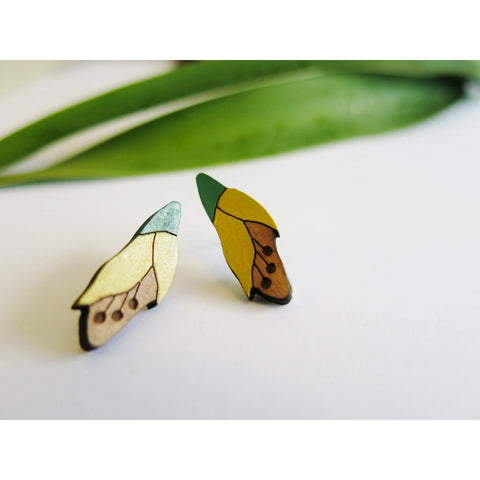 Kowhai Rimu Earrings
