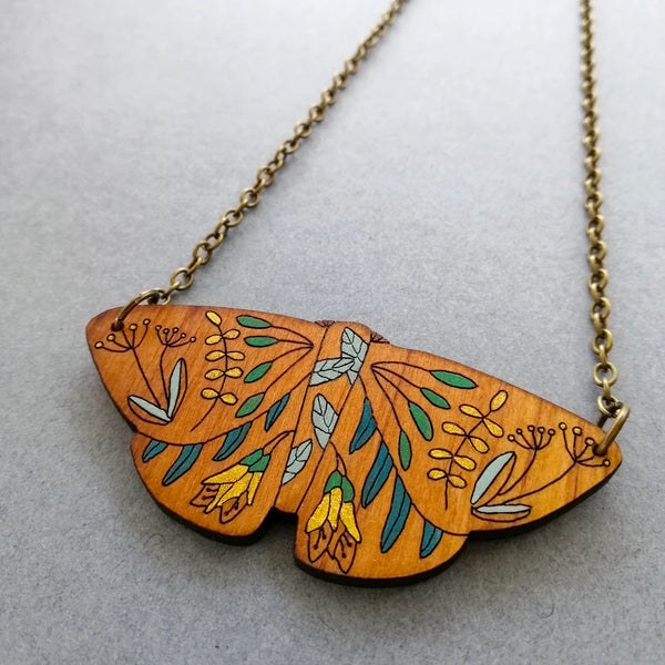 Butterfly Rimu Necklace