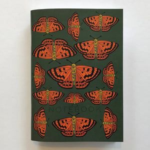 Rauparaha Copper Butterfly Notebook