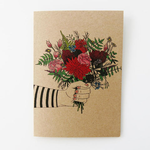 Flowers - Greeting Card