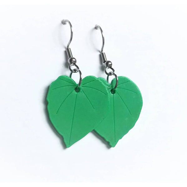Recycled Kawakawa Earrings