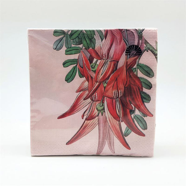 New Zealand Flora Napkins
