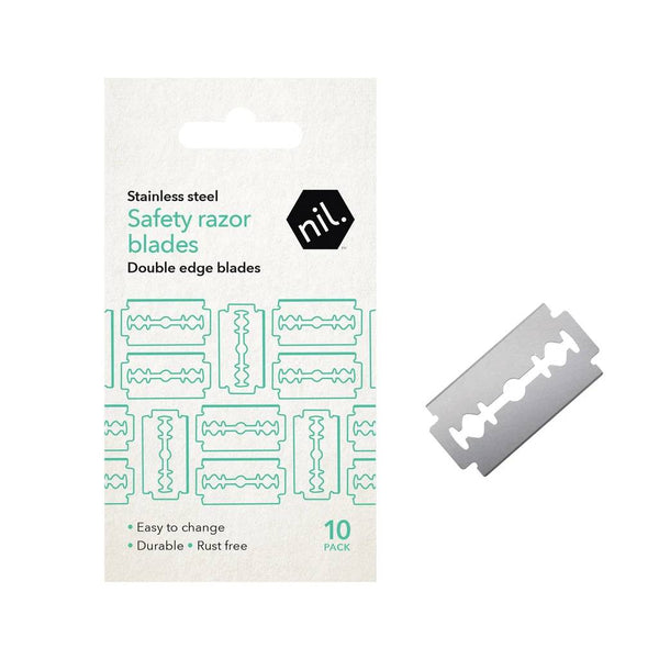 Safety Razor Blade Refill Pack