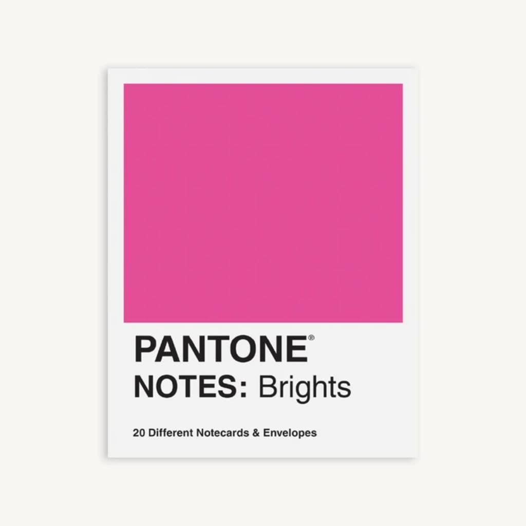 Pantone Notes: Brights: 20 Different Notecards & Envelopes