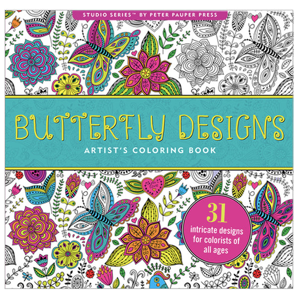 Artist's Colouring Book