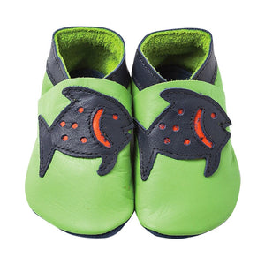 Fish Baby Shoes / Lime