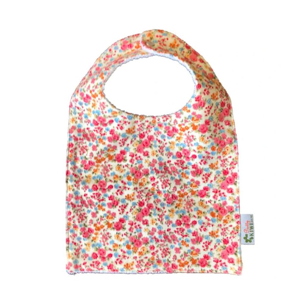 Tiny Flowers Baby Bib