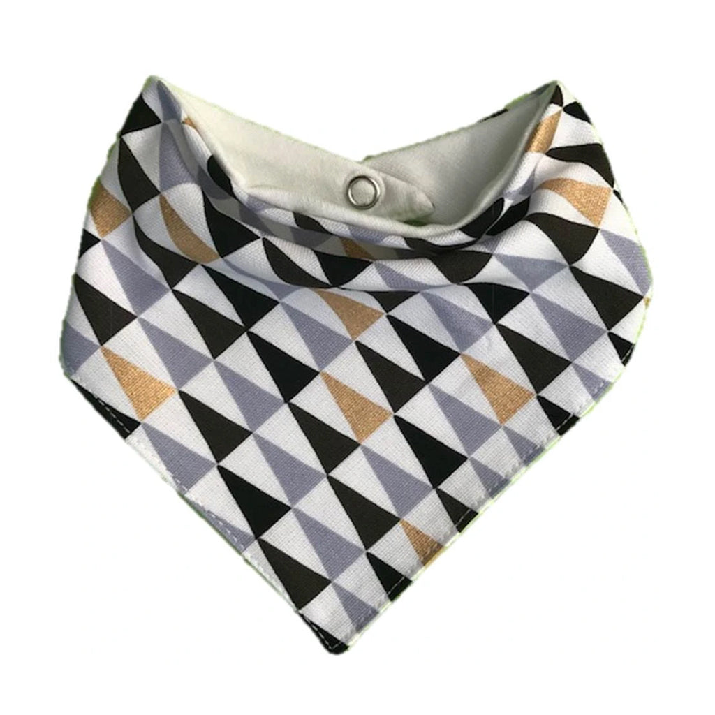 Triangles Bandana Bib