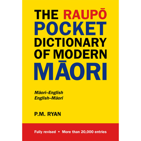 The Raupo Pocket Dictionary of Modern Māori
