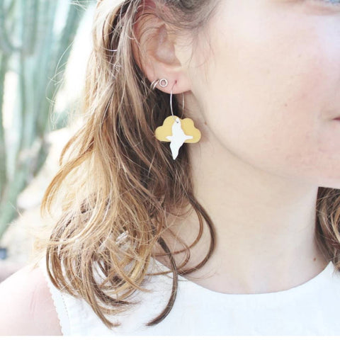 Flocking Bird Earrings