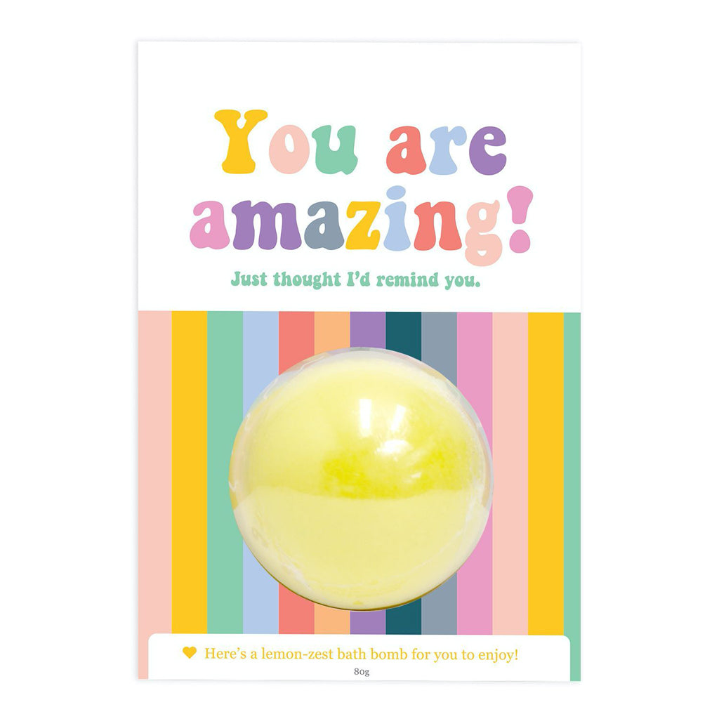 Amazing Bath Bomb Gift Card