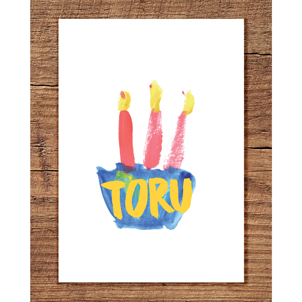 Toru - Greeting Card