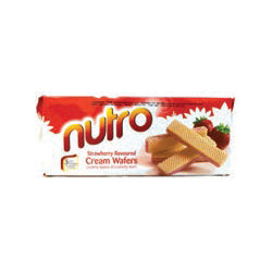 NUTRO STRAWBERRY CREAM WAFERS