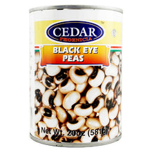 CEDAR BLACK EYE PEAS