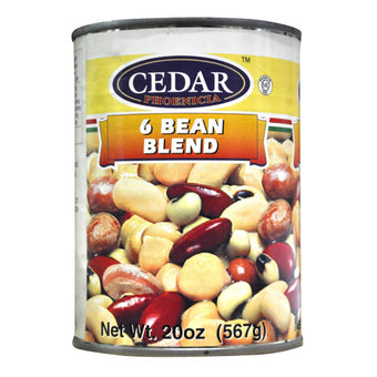 CEDAR MIXED BEANS & SALAD (6 BEAN)