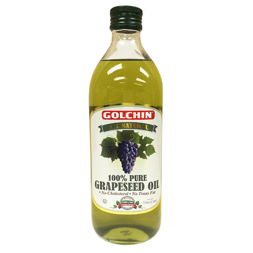 GOLCHIN 100% PURE GRAPE SEED OIL 1 LT