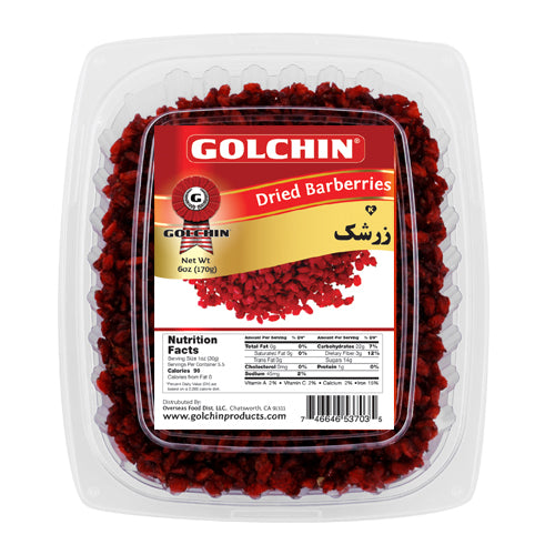 GOLCHIN DRIED BARBERRIES (ZERESHK)
