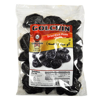 GOLCHIN DRIED BLACK PLUMS