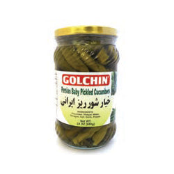 GOLCHIN PERSIAN PICKLED CUCUMBERS