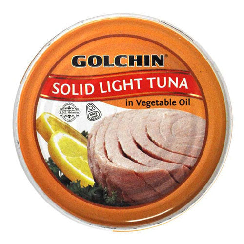 GOLCHIN SOLID LIGHT TUNA IN VEGETABLE OIL