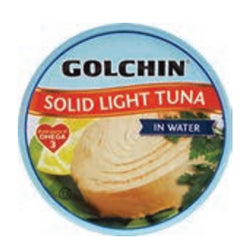 GOLCHIN SOLID LIGHT TUNA IN WATER