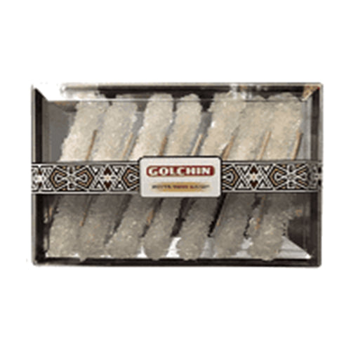 GOLCHIN WHITE ROCK CANDY WITH STICK
