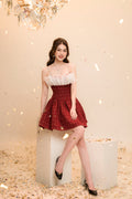 Achi Dress ( Red )
