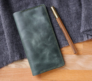 Leather iPhone Wallet Case - Tripolis