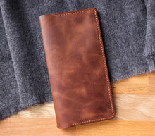 Load image into Gallery viewer, Leather iPhone Wallet Case - Tripolis
