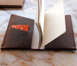 Leather Notebook Case - Arinna