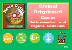 Ground Dehydrated Cacao