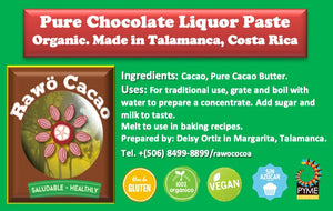 Pure Chocolate Liquor Paste