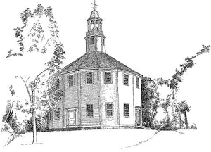 The Round Church - Williston, Vermont.