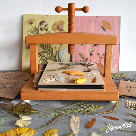 Pressed Flower & Foliage Workshop by Bloomstall