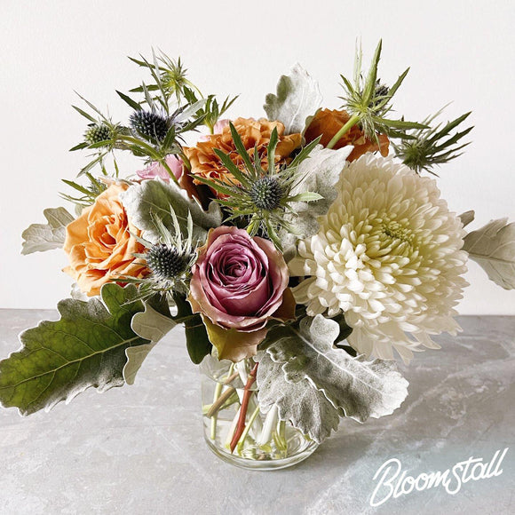 Serene Flower Arrangement by Bloomstall