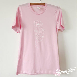 Bloomstall Signature T-Shirt in Pink