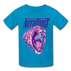NOTÖRIOUS GLAMORIZED White Kids - turquoise