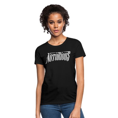 NOTÖRIOUS Black Tee Women - black