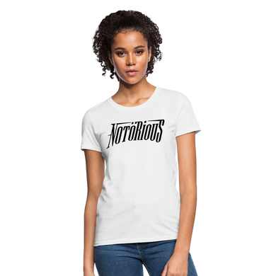 NOTÖRIOUS White Tee Women - white